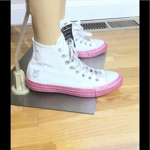 Brand New, Miley Cyrus, High Top Converse Sneakers